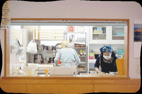 おいしい食事をご提供
